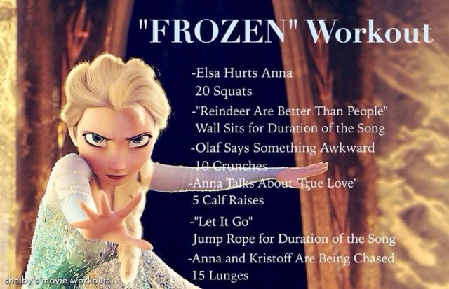 frozen-workout